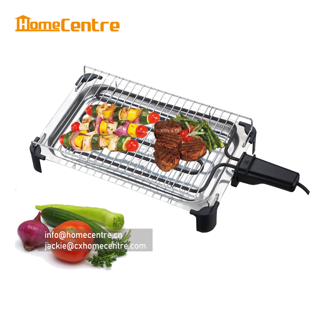 Electric BBQ / Electric Barbecue / Cook Size 33x22cm / 2000W/ Electric Table BBQ Grill/CE