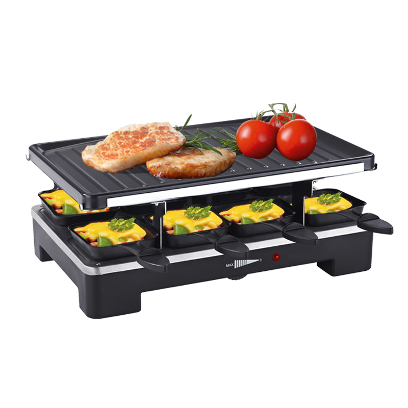8-person Raclette party Grill