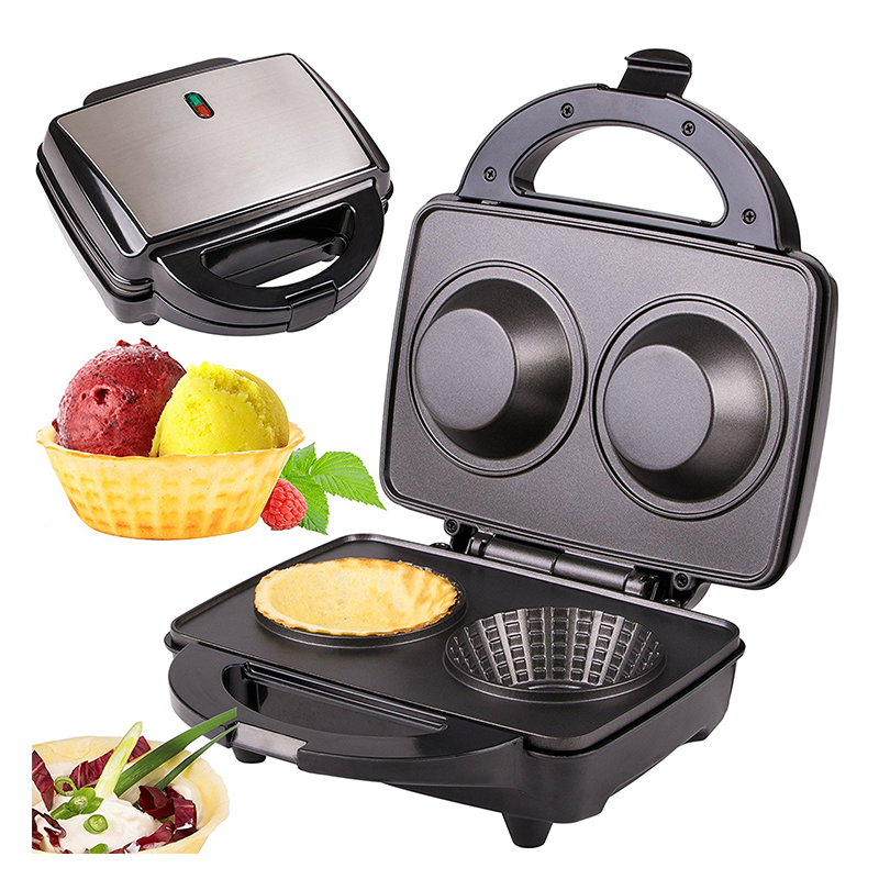 Electric Double Bowl Waffle Maker